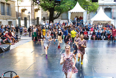 Scène danse de l'ADC - Fête de la musique 7