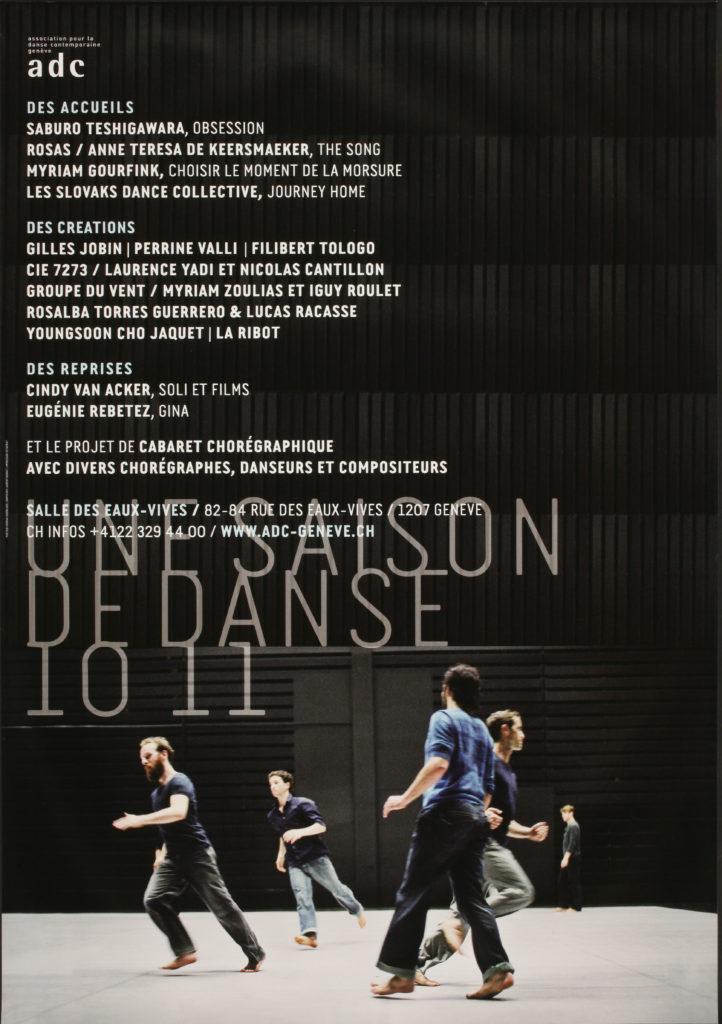 Saison 10-11 (programme)