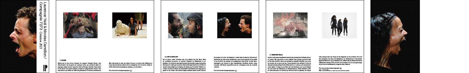 Laurence Yadi & Nicolas Cantillon / Création 2021